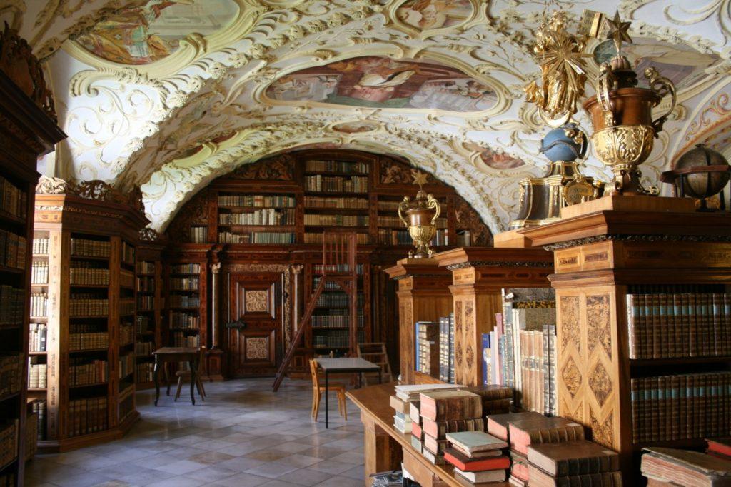 Pilgern Via Sacra - Bibliothek Stift Lilienfeld