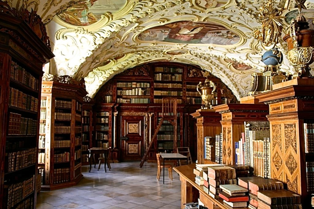 Bibliothek Stift Lilienfeld