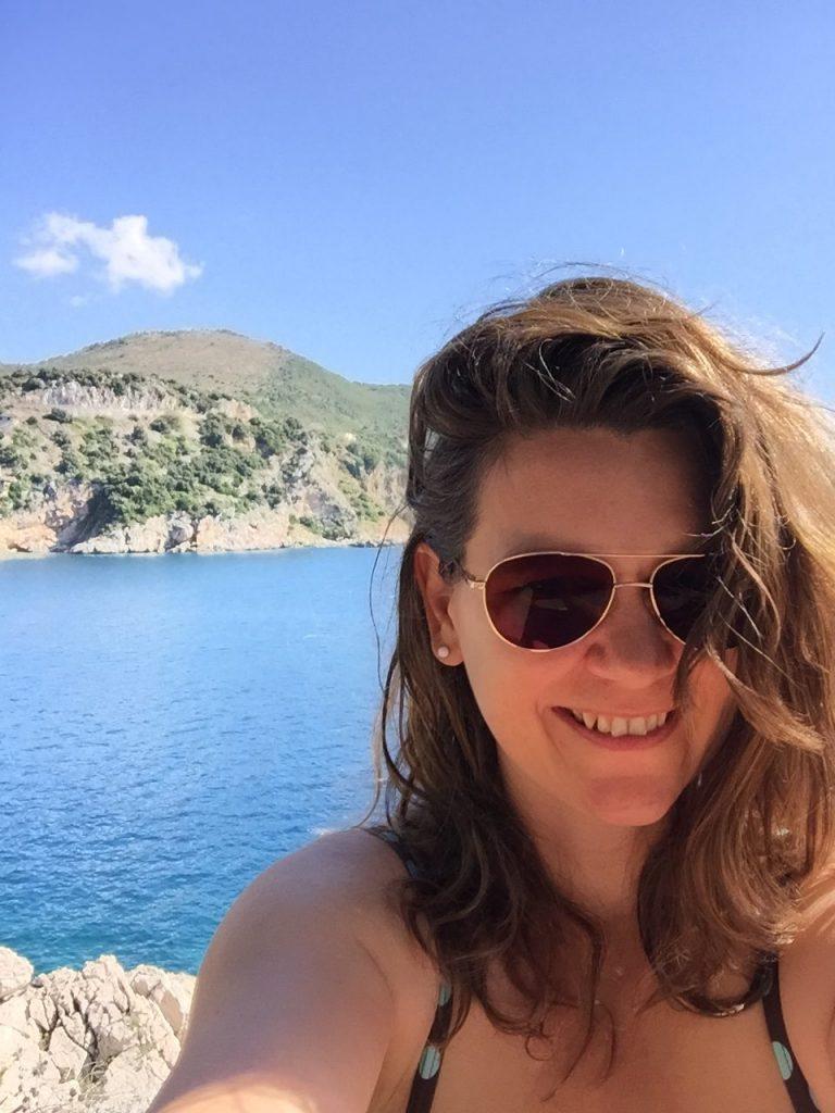 Haarpflege besonders mit Salzwasser und viel Sonne wichtig - Home Spa Produkte selber machen