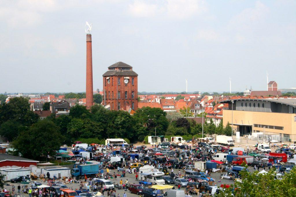 Bürgerweide - hier ischa Freimarkt im Oktober