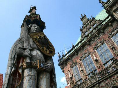 Bremen Urlaub Tipps - Bremer Roland und Rathaus