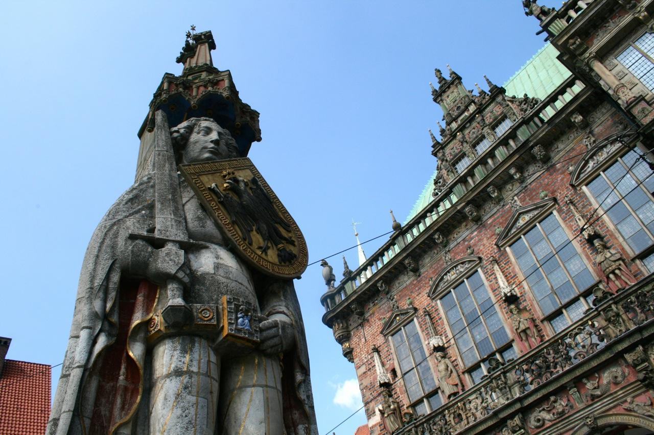 Bremen Urlaub Tipps – Bremer Roland und Rathaus