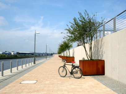 Mit dem Fahrrad durch Bremen