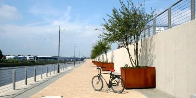 Mit dem Fahrrad auf der Wellness-Radroute unterwegs