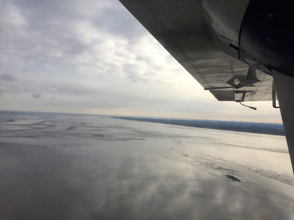 Wangerooge mit dem Flieger ans Festland