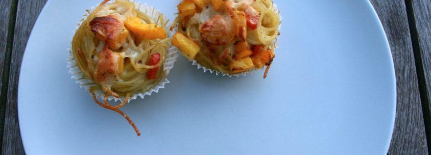 Fertige Spaghetti Muffins