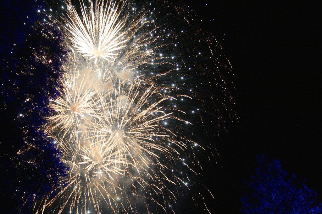 Feuerwerk Reeperbahn