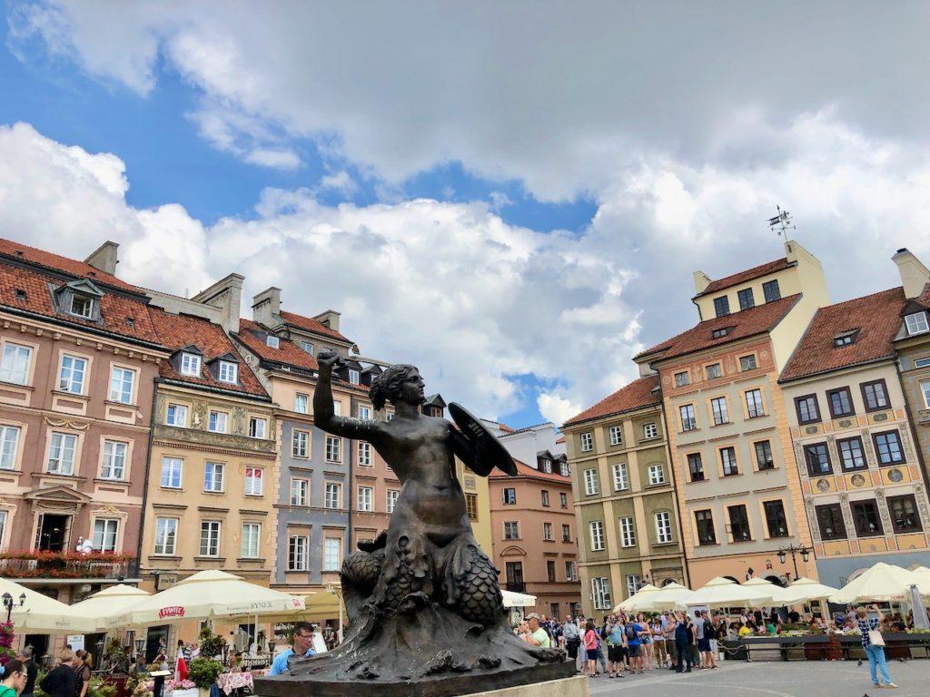 Unterwegs in der Warschau Altstadt