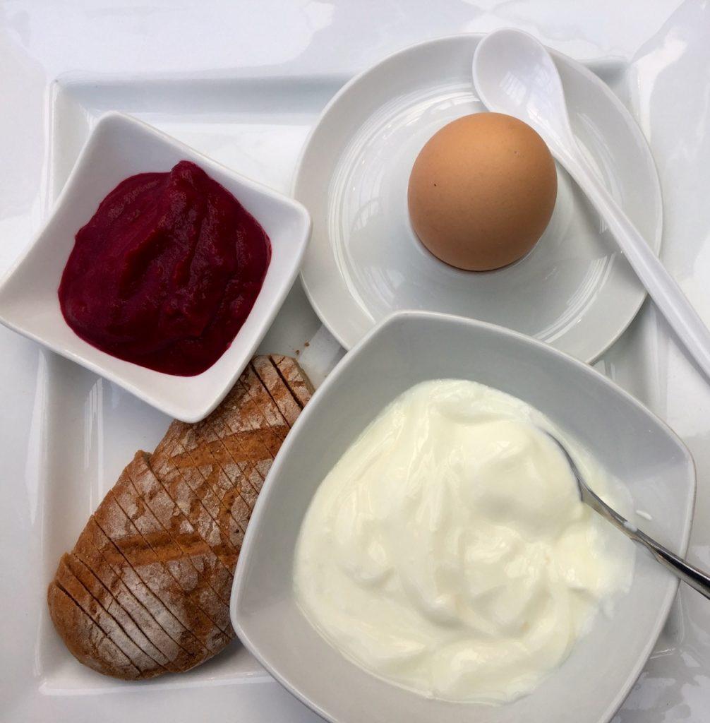 Letztes FX Mayr Frühstück