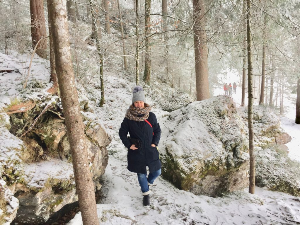 Im Winter im Allgaeu