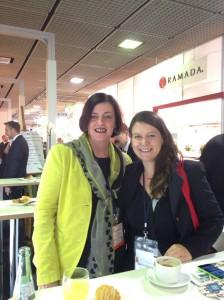 Inspirierendes Treffen auf der ITB - Doris Berendes (Hotel-Vertriebsoptimierung) & Tanja Klindworth (SPANESS)