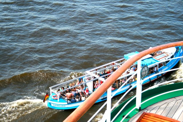 Blick vom Kreuzfahrtschiff