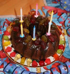 Auch Kuchen kann man mittlerweile vom Lieferdienst bestellen
