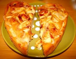 Leichter Apfelkuchen