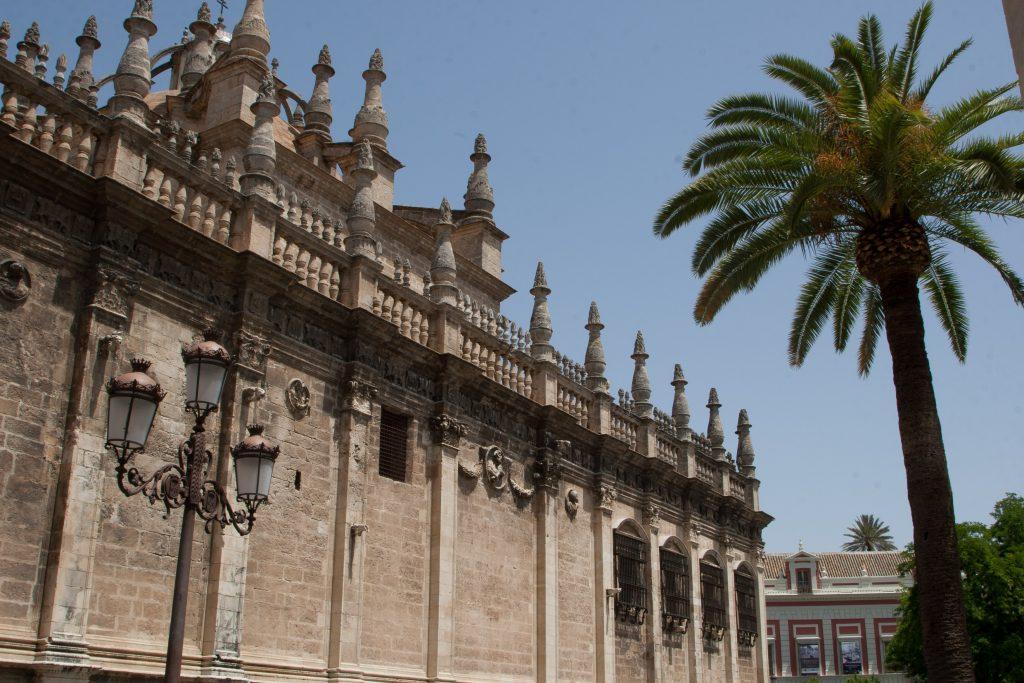 Sevilla auf der Reise durch Andalusien