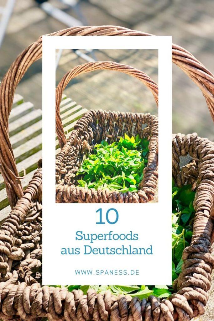 Superfood Liste aus Deutschland