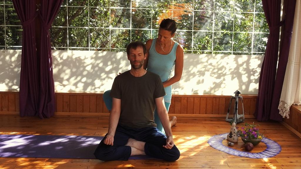 Yoga fuer Anfaenger in der Tuerkei