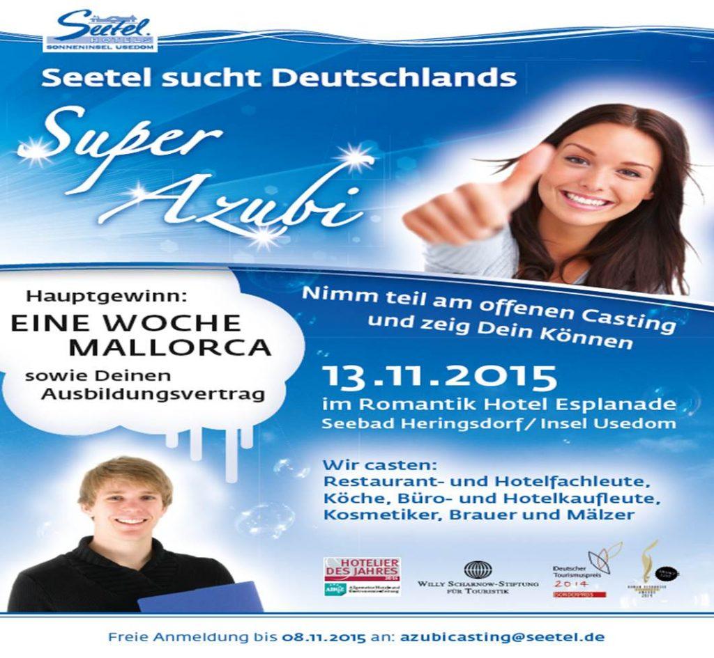 Plakat Azubi-Casting