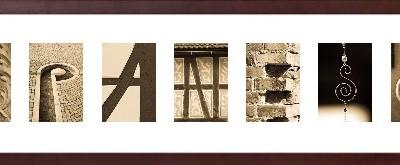 Bildquelle: alphabetario - Namen im Rahmen