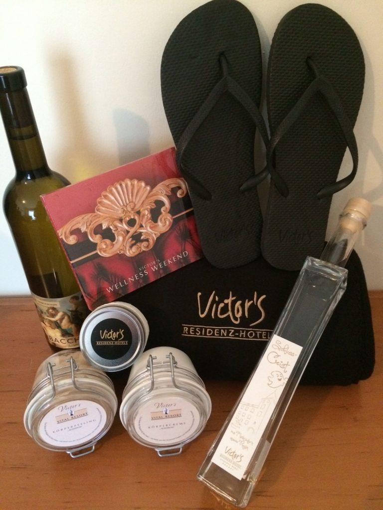 Wellness-Paket von Victor's Residenz Hotels