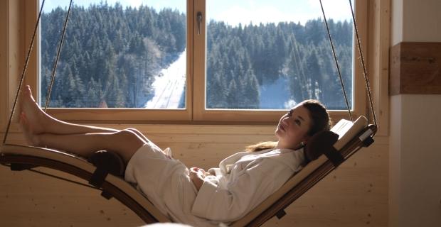 Gemütliche Wellness-Auszeit im Waldhotel am Notschreipass