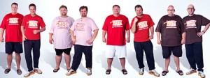 """Die """"Biggest Loser"""" Halbfinalisten im Vorher-Nachher-Vergleich (Quelle: kabeleins.de)"""