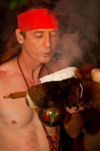 Cherokee Indianer und Medizinmann Turtle