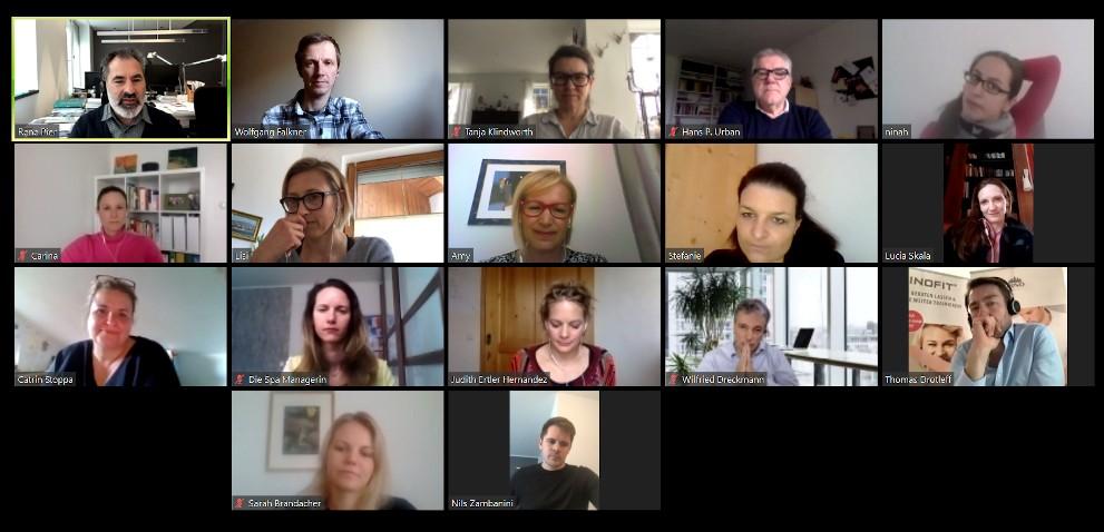 SpaCamp Fokus-Meeting April 2020