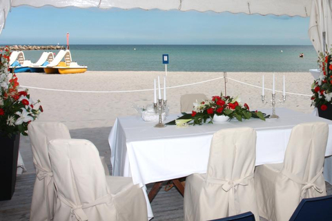 Bildquelle: Hochzeitsfeier am Strand von Damp
