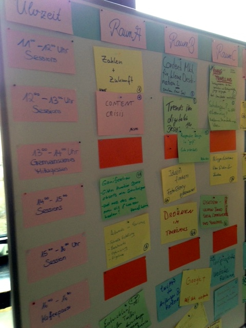 Sessionplan Tourismuscamp Samstag