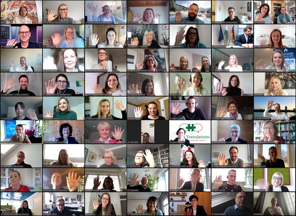 Teilnehmer SpaCamp Focus Day 2021