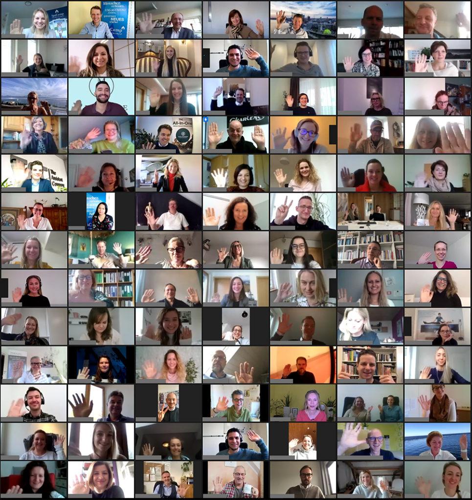 SpaCamp 2020 Teilnehmer