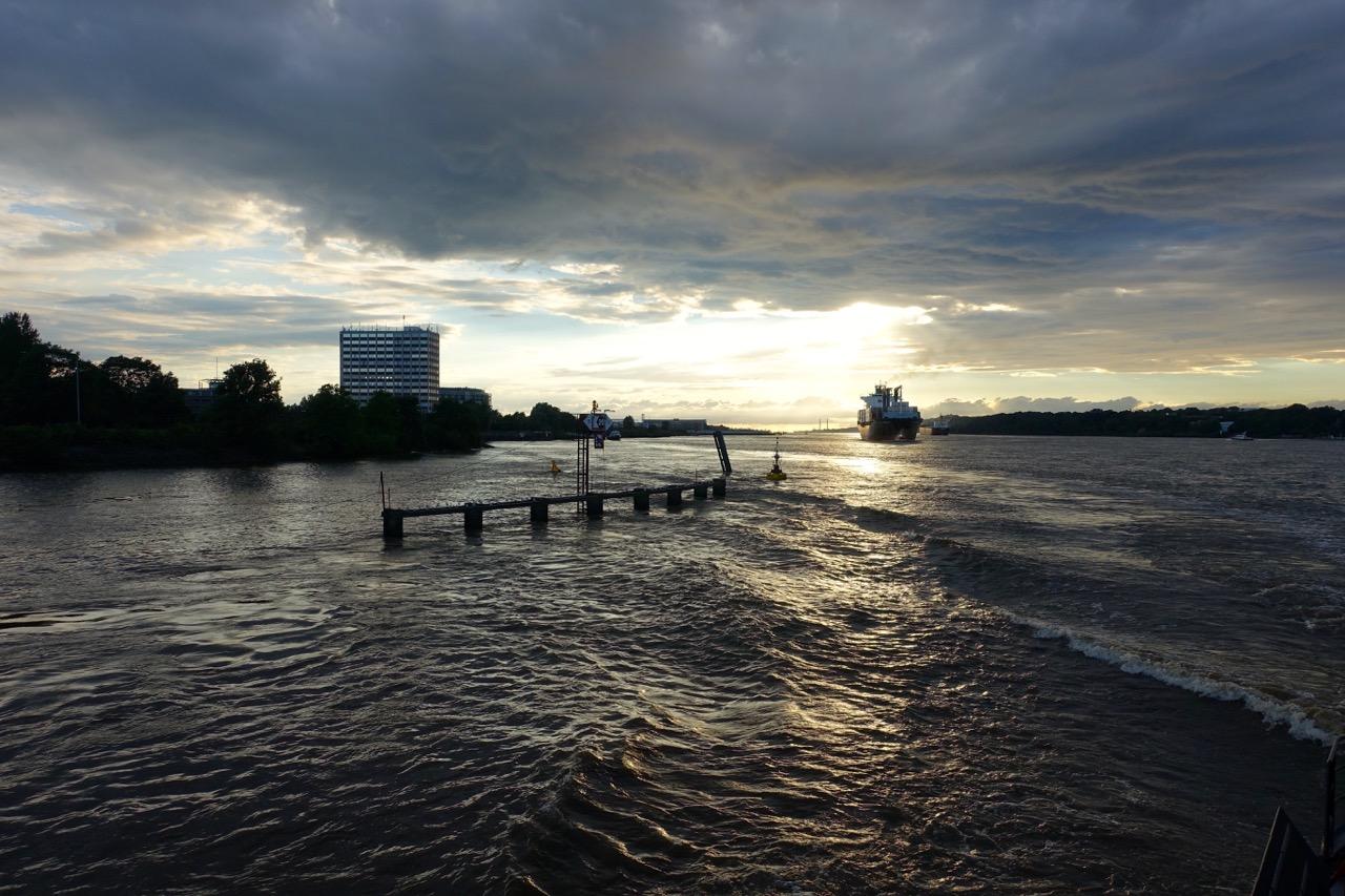 Hamburg: Wandern auf dem E1