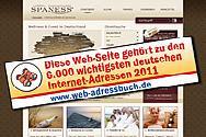 Eine der besten deutschsprachigen Webseiten www.spaness.de
