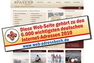 SPANESS eine der besten deutschsprachigen Webseiten